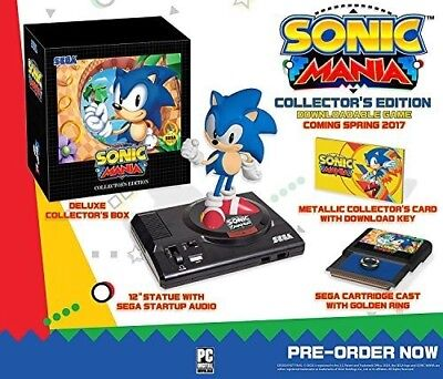 Sonic Mania  Collectors Edition Video Game 010086632071