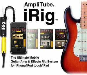 Amplitube iRig from IK Multimedia for iPod, iPhone, and iPad