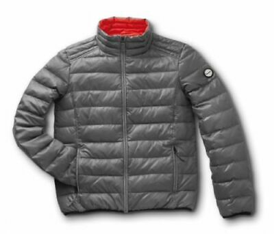 Vespa Windproof Goose Feather Padded Jacket Grey X-Small New 605490M01G