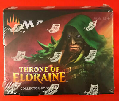 1x Throne of Eldraine Collectors Booster Box - SEALED / NEW