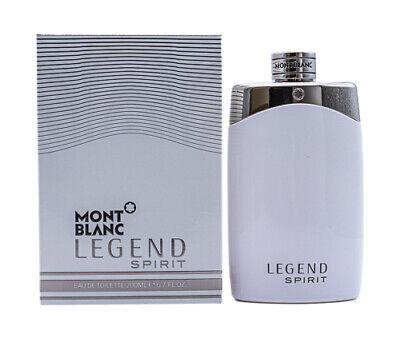 Mont Blanc Legend Spirit 6.7 oz EDT Cologne for Men New In Box