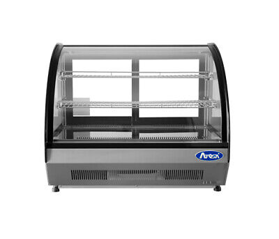 Atosa Refrigerated Display Case Countertop 4.6 Cu. Ft.