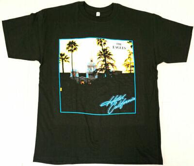 EAGLES T-shirt Hotel California Classic Rock Band Men's  Tee