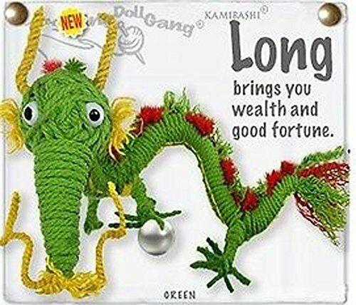 Kamibashi Long the Dragon Original String Doll Gang Keychain Toy