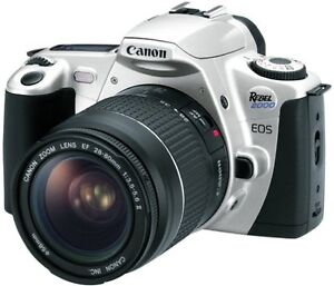 Canon Rebel 2000 EOS 35mm Film Camera 28-90mm Zoom Lens