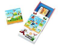 Magic Slot Puzzle Case Nintendo DS Super Mario Travel Protector Toy BRAND NEW