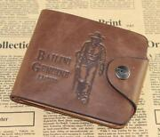Mens Leather Card Holder Wallet
