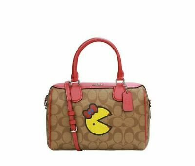 Coach Ms. Pac Man Mini Bennett Satchel -NWT