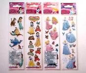 Disney Princess Sticker Lot