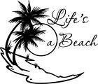 Beach Life Decal