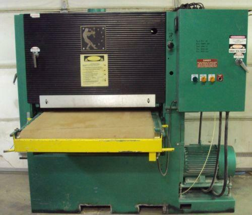 Wide Belt Sander Ebay