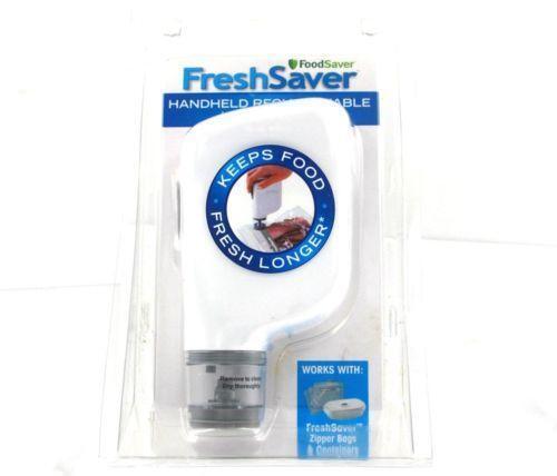 Foodsaver Freshsaver Handheld Vacuum Sealer Ebay