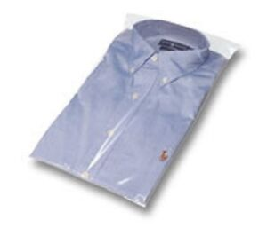 Clear Plastic Shirt Bags 10 X 16 Case Of 2000 New Free