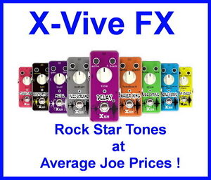 X-Vive FX are Now In Stock At Rainbow Music Shop !