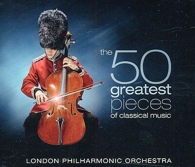 London Philharmonic - 50 Greatest Pieces of Classical Music [New CD] Bo