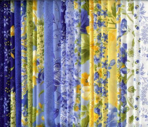 Blue Yellow Quilt Ebay