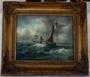 Vintage Oil Painting Ebay