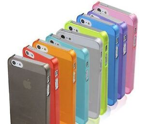 iPhone 4/4S/5/5S/5C Matte Clear Case BUY 3 for $5