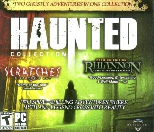Computer Games - Haunted Collection PC Games Windows 10 8 7 XP Computer point and click adventure
