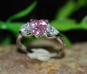 Pink Diamond Ring White Gold