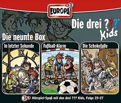 3 CDs * DIE DREI ??? (FRAGEZEICHEN) KIDS - BOX 9 - FOLGEN 25 - 27 # NEU OVP =