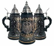 Lidded Steins