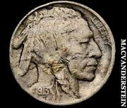 1913-D T 2 Buffalo Nickel