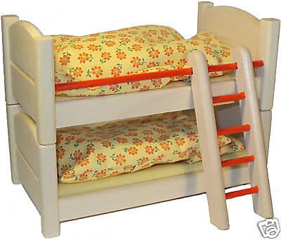 Etagenbett Kinderbett Bett Puppenhaus 1:12, Rülke 22687 ()