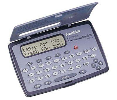 Franklin Twe 118 Fr Txf5 English Spanish Translator Twe118 A Brand New