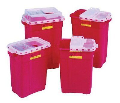 PT# 185 PT# # 185- Container Sharps-Tainer Non-Stackable Small Red 1.7qt Ea by,