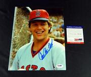 Red Sox Signed 8x10