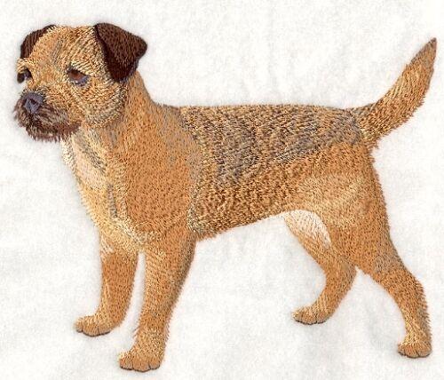 Embroidered Fleece Jacket - Border Terrier C4888 Sizes S - XXL