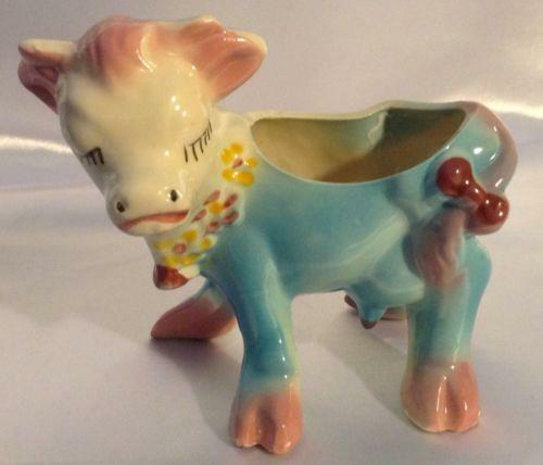 Cow Planter Ebay