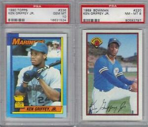 f337cb1ba1 Topps Ken Griffey Jr Rookie Card 336