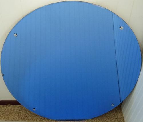Art Deco Blue Mirror Ebay