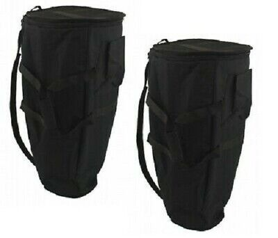 """Set of Two - Deluxe Thick Padded CONGA Gig BAG 13.5"""""""