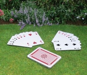 New Giant a3 playing cards Full Deck 37cm x 26.5cm play Your Cards Right