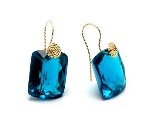 Paraiba Tourmaline Earrings Ebay