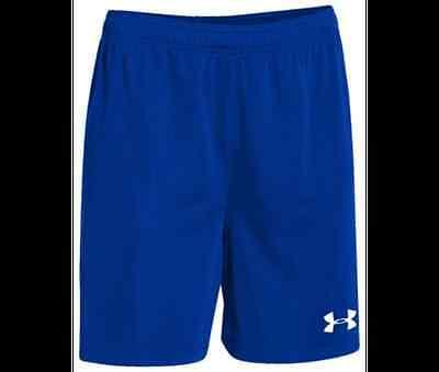 Under Armour Adult Mens UA Golazo Shorts Black, White, Royal Blue ...