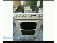 Creda 60cm ceramic electric cooker. Can deliver