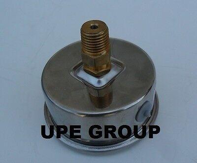 Liquid Glycerin Filled Pressure Gauge Hydraulic 2.5 Face 0-200 Back 14  Mi