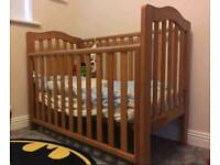 Smyths Bella Cot Brown in Perfect condition