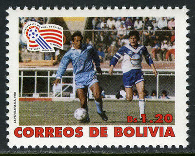 Bolivia 852, MI 1173, MNH. 1994 World Cup Soccer Championships, US, 1992