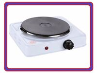 Single Ring 1500W Portable Electric Hot Plate Hob Caravan/Camping Stove Hotplate Food Warmer Cooker