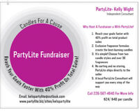 Host A PartyLite Fundraiser