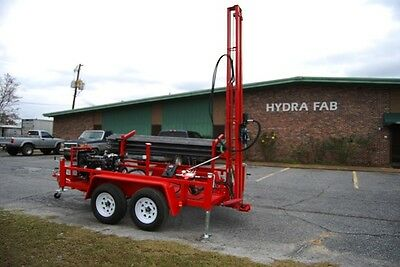 Water Well Geothermal Drill Rig Pump Deep Hole Drilling Equipment Rock Driller