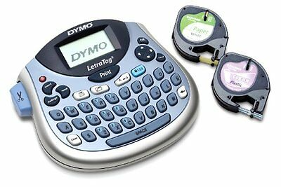 dymo letratag personal label maker 11944 silver manual
