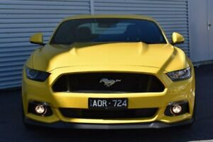 2017 Ford Mustang FM MY17 GT Fastback SelectShift Yellow 6 Speed Sports Automatic Fastback