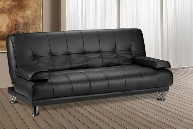 Brand New Venice 3 Seater Luxury Leather Sofa Bed Quality And Comfort Sofabed Next Day Delivery