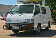 2004 Mitsubishi Express SJ M04 SWB White 5 Speed Manual Van Woodridge Logan Area Preview